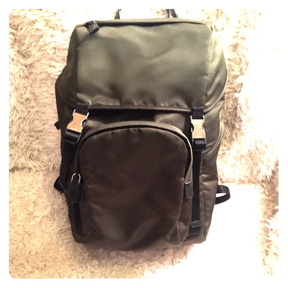 73c6bd2f2a31 Prada Backpack. NWT. Prada.  799  1290. Size